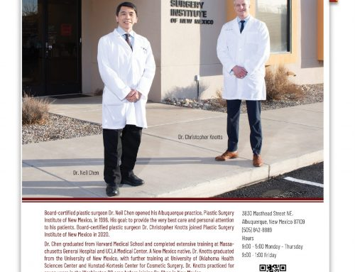 Dr. Christopher Knotts and Dr. Neil Chen Featured in Albuquerque Magazine